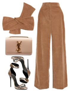 """Kae"" by kimeechanga ❤ liked on Polyvore featuring Jennifer Kate, Rosetta Getty, Giuseppe Zanotti and Yves Saint Laurent"