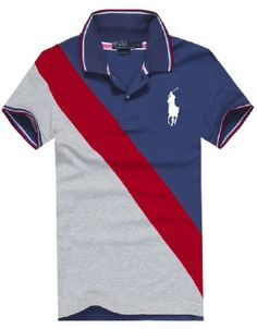 Cheap Polo By Ralph Lauren Men Custom Fit Big Pony Polo Blue For Sale | 2014