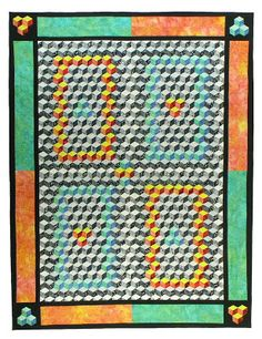 196 Best Tumbling blocks quilts images in 2019 | Quilts