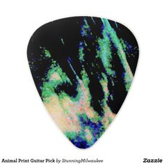 Animal Print Guitar Pick