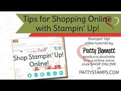 Stampin' UP! Online Shopping Tips Video - Patty's Stamping Spot