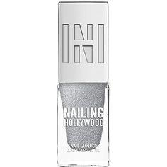 Nailing Hollywood Nail Polish, Sterling 0.33 oz (10 ml) ($9.99) ❤ liked on Polyvore featuring beauty products, nail care and nail polish