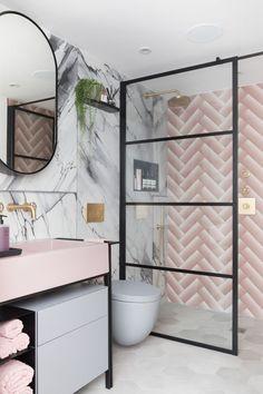Loft Bathroom, Bathroom Renos, Modern Bathroom, Master Bathrooms, Bathroom Ideas, Bathroom Organization, Family Bathroom, Remodel Bathroom, Small Bathrooms