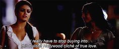Bullshit Hollywood Cliche Of True Love ~Friends With Benefits Top Love Quotes, Best Quotes Of All Time, Love Quotes Photos, Inspirational Quotes About Love, Feminist Icons, Sayings And Phrases, The Ugly Truth, Friends With Benefits, Movie Quotes