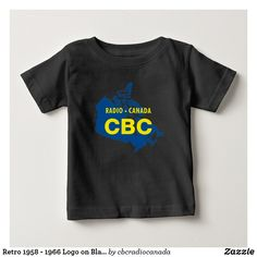 36bf7443262 Shop CBC 1958 Logo Baby T-Shirt created by cbcradiocanada.