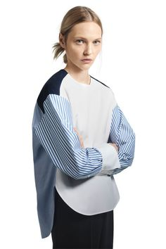 Partow Pre-Fall 2021 collection, runway looks, beauty, models, and reviews. Shirts & Tops, Fashion Show Collection, Blouse Styles, Mannequins, Fashion News, Fashion Dresses, Women Wear, My Style, Womens Fashion