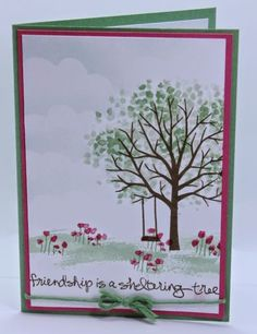 Creating Cards with Andrea: Sheltering Tree