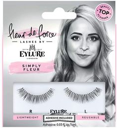 Fleur De Force by Eylure Lashes - Fleur & Fabulous - Künstliche Wimpern Fake Lashes, False Eyelashes, Eylure Lashes, Ardell Lashes, Beauty Kit, Beauty Products, Beauty Secrets, Beauty Ideas, For Lash