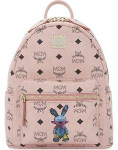 MCM - Canvas rabbit backpack  e631e0d76468d