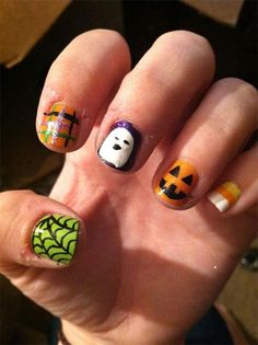 Best scary halloween nail art designs ideas pictures 2013 best scary halloween nail art designs ideas pictures 2013 2014 girlshue craft ideas pinterest scary halloween scary and candy corn nails prinsesfo Choice Image