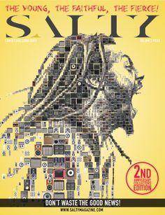 Tsevis design for SALTY Magazine