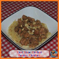 Thai Slow Cooker Peanut Chicken