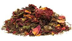 Shen Zen Tea: the organic and beautiful White Rose Medley. Loads of antioxidants and it smells glorious!