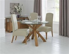 1000 ideas about dining table on pinterest round dining for Glass top dining table next