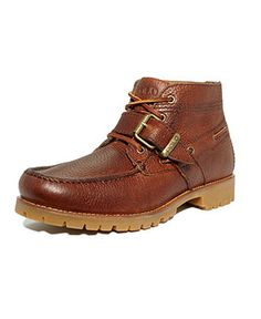Polo Ralph Lauren Boots, Rumford Leather Boots - Mens Boots - Macy's