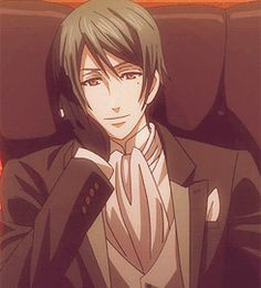 Book Of Circus, Vincent Phantomhive.  READ DESCRIPTION!! Another reason i do not ship Ciel and Sebastian: Doesn't Vincent look a bit like a Cat loving demon we all know???? I know its probably a really unlikley headcannon, but really! Another reason Sebastian is so close to Ciel! ~ER