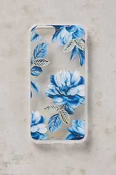 Blue Blossoms iPhone 6 Case - anthropologie.com