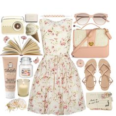 A fashion look from February 2014 featuring RED Valentino dresses, ASOS sandals and Disaster Designs clutches. Browse and shop related looks.