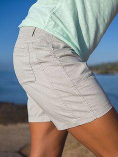 Zelle Shorts | Title Nine Summer Sweaters, Long Shorts, Snug, White Shorts, Attitude, Tights, Mini Skirts, Cotton, Outfits