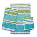 bathroom rug, towel set from BBB