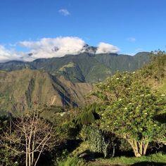 Llanganates view from Luna Runtun