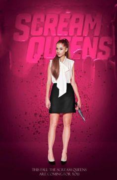 Ariana Grande - Scream Queens poster