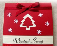 Boże Narodzenie Kartka Christmas Cards, Christmas Decorations, Holiday Decor, Last Christmas, Diy And Crafts, Gift Wrapping, Birthday, Xmas, Holiday Ornaments