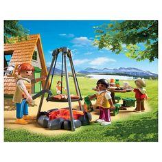 932108a5d4b Playmobil Camping Lodge Playset  Camping