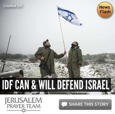 IDF Can & Will Defend Israel -- For more on this story, or to see our sources, visit: http://articles.jerusalemprayerteam.org/idf-can-will-defend-israel/  LIKE and SHARE this story to encourage others to defend the Jewish people and pray for peace in Jerusalem, and leave your PRAYERS and COMMENTS below.
