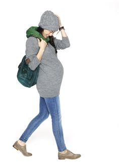 Winter Maternity Fashion for Less than $30! Check out MotherhoodCloset.com