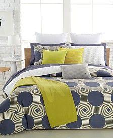 lacoste bailleul bedding collection, 100% cotton | lacoste