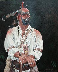 Richard Luce has been a full time artist portraying the history he loves for over 30 years. Native American Face Paint, Native American Warrior, Native American Pictures, Native American History, American Indians, Woodland Indians, Trail Of Tears, West Art, Native Art