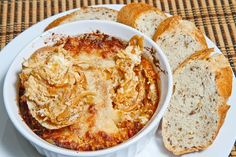 Hot Caramelized Onion Dip. Like French onion soup but better!! Yum, yum, yum all the way.