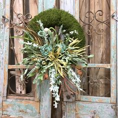 Everyday Wreath Door Decor Moss Wreath Wreath Round