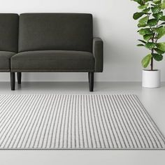 Stripe Woven Rug Gray - Made By Design™ : Target Color Blending, Sleek Look, Rug Material, Accent Rugs, Rectangle Shape, Woven Rug, Grey Stripes, Rug Making, Living Spaces