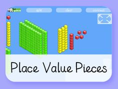 Free educational games aimed at children between 5 and 8 years old. Made by a UK teacher with 20 years of experience in education. Place Value Games, Game Place, Math Games, Maths, Math Fractions, Multiplication, Math Websites, 2nd Grade Math, Third Grade