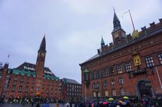 Copenhagen - Rådhuspladsen with the Palace Hotel and the City hall Palace Hotel, Baltic Sea, Copenhagen, Denmark, Backpack, Louvre, Train, City, Building