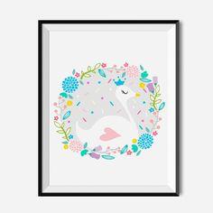Plakat dla dzieci - Łabędź