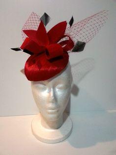 Redridinghood BY BELINDA GREEN  #millinery #hats #HatAcademy