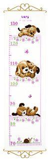 Vervaco, Maßband Hundewelpen, 360736 Teddy Bear, Baby, Animals, Hardanger, Animales, Animaux, Teddy Bears, Animal, Baby Humor