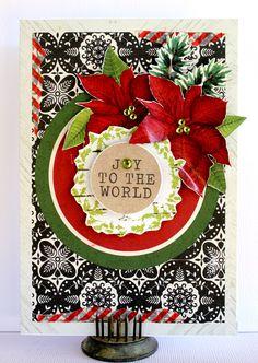 Joy to the World - Kaisercraft Home For Christmas - Scrapbook.com