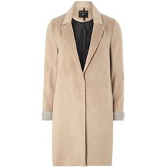 **Tall Camel Coat (€46) ❤ liked on Polyvore featuring outerwear, coats, jackets, coats & jackets, camel, tall coats, beige coat and camel coat