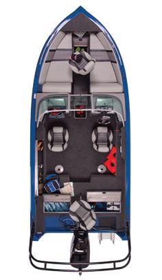 Aluminum Fish and Ski Boats for Waterski, Wakeboard, Tubing and Fishing   Deep-V : 2013