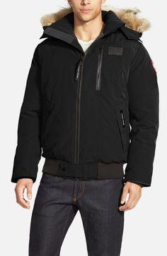 canada goose faux fur jacket