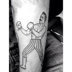 BOXER #new #tattoo #ink #B&W #simplicity #lines