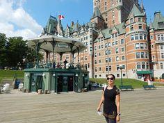 Château Frontenac  #viajarcorrendo #canadá #quebec #québec