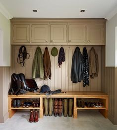 However you intend to use the utility room space, it will undoubtedly function as an overflow room at some stage, so it's probably best to allow for more storage space than actually needed.