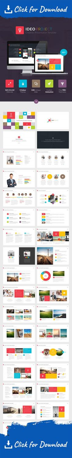 HappyBiz Multipurpose Business Template Data charts and Business - animated power point template