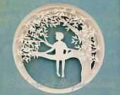 Items similar to The dreamer. Original papercut by Catherine Bogomolova on Etsy