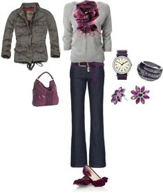 """""""Winter Purple"""" by thetrendyhomemaker on Polyvore"""